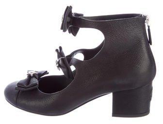 Chanel 2015 Paris-Salzburg Embellished Leather Booties