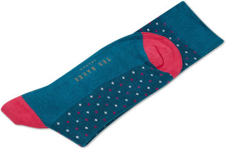 Dotted socks $15 thestylecure.com