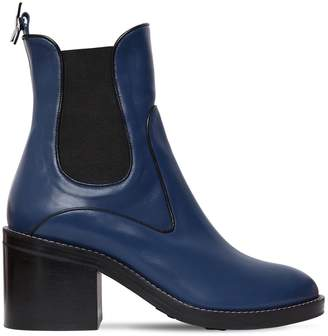 75mm Madison Leather Chelsea Boots