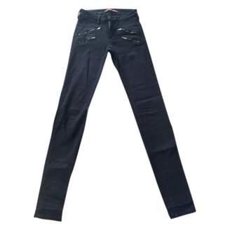 Comptoir des Cotonniers Blue Cotton - elasthane Jeans for Women