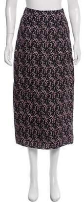 Rosie Assoulin Silk Midi Skirt w/ Tags