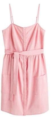 MANGO Buttones cotton dress