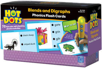 Educational Insights Hot Dots Blends And Digraphs Phonics Flash Cards