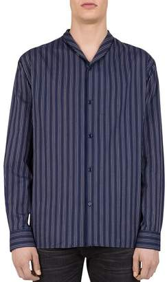 The Kooples Sky Striped Regular Fit Button-Down Shirt