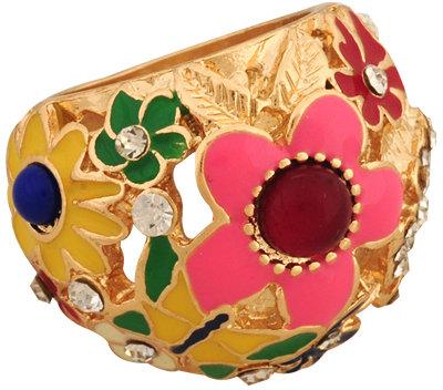 Forever 21 Floral Whimsy Ring