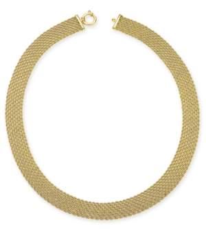 Italian Gold El Dorado Link Chain Necklace in 14k Gold