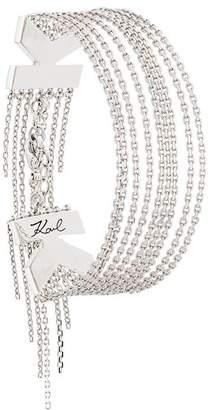 Karl Lagerfeld K Fringe bracelet
