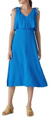 Whistles Romina Tie-Detail Dress