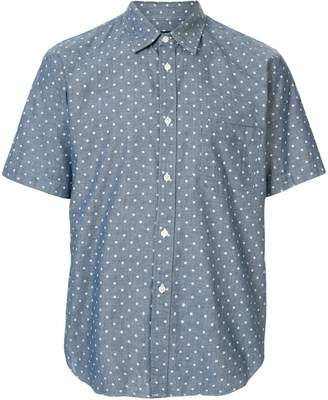 Comme des Garcons Pre-Owned polka dots chambray shirt