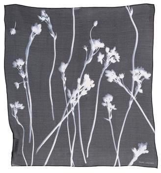 Marc Jacobs Floral Chiffon Scarf