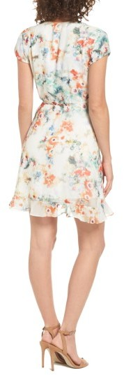 Women's Willow & Clay Floral Wrap Dress 2