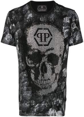 Philipp Plein round neck skull T-shirt