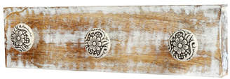 ArtisanalCreations 3 Ceramic Knob Jewellery Rack