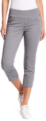 Jag Penny Twill Straight Crop Pull-On Jeggings