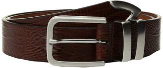 Johnston & Murphy Lizard Tip Men's Belts