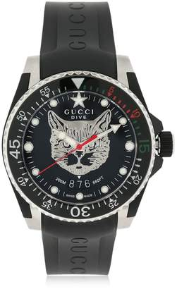 Gucci Dive Leather Watch