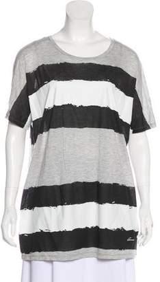 Gucci Striped Semi-Sheer T-Shirt