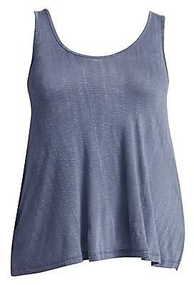 Slink Jeans, Plus Size Women's Relaxed-Fit Cotton Tank Top