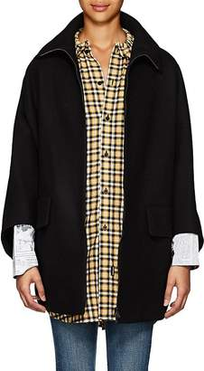 Yohji Yamamoto Regulation Women's Wool Melton Oversized Cape