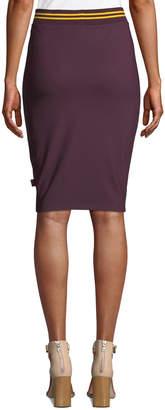 FENTY PUMA by Rihanna Varsity Stripped Pencil Skirt