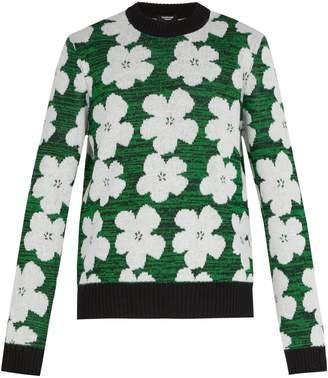 Calvin Klein 1964 Flowers alpaca and wool-blend sweater