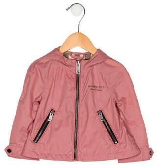 Burberry Girls' Windbreaker Jacket