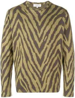 YMC abstract print sweater