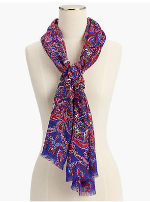 Talbots Delicate Paisley Scarf