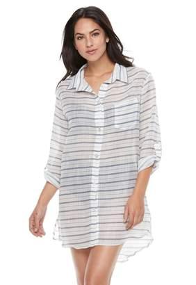 Apt. 9 Women's Shirt Cover-Up