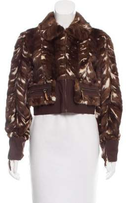 Marni Cropped Mink Fur Jacket