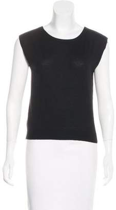 Tamara Mellon Sleeveless Cashmere Top w/ Tags