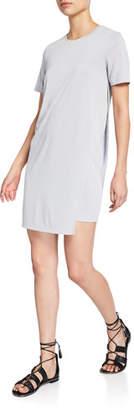 Club Monaco Peechie Knit Short-Sleeve T-Shirt Dress