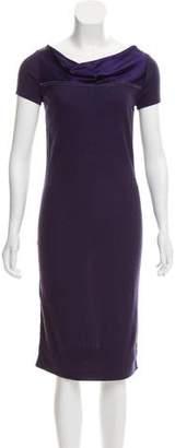 Emporio Armani Angora Midi Dress