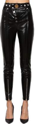 Alexander Wang Skinny High Waist Patent Leather Pants