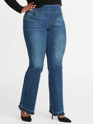 Old Navy Smooth & Comfort High-Rise Plus-Size Rockstar Boot-Cut Jeans