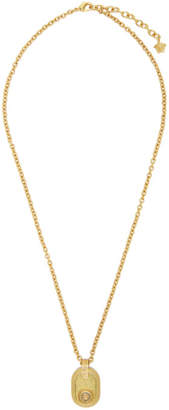 Versace Gold Medusa Tribute Necklace