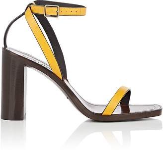 Saint Laurent Women's Leather Ankle-Strap Sandals
