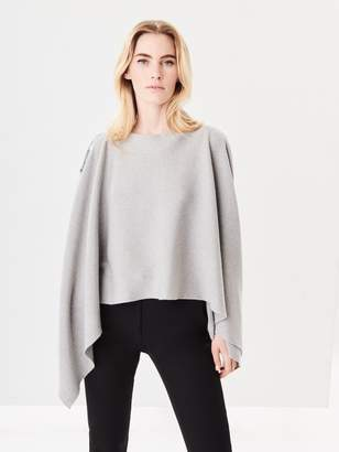 Oscar de la Renta Trompe Loeil Sequin Embroidered Wool Pullover