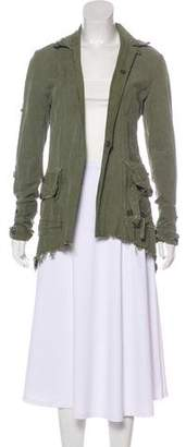 Greg Lauren The Tent Dickens Mozart Distressed Jacket w/ Tags