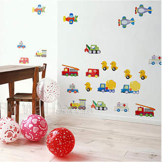 Toy Cars, Trucks, Airplanes...Kids Wall Sticker