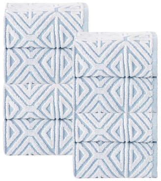 Enchante Home Glamour 8-Pc. Turkish Cotton Wash Towel Set Bedding
