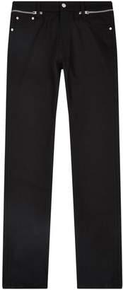 Alexander McQueen Zip Detail Jeans