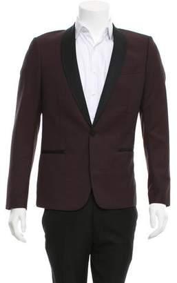 The Kooples Grosgrain-Trimmed Wool Blazer w/ Tags