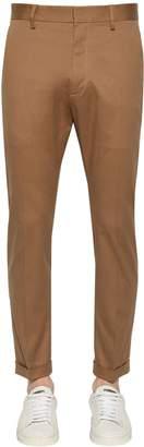 DSQUARED2 16.5cm Stretch Cotton Cigarette Pants