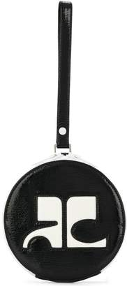 Courreges round shaped clutch bag