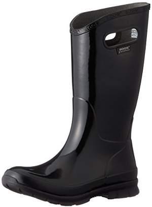 Bogs [ボグス] レインシューズ BERKELEY SOLID レインブーツ 長靴 BLACK US 6(23 cm)