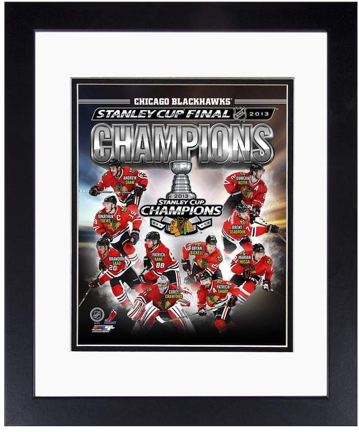 "Chicago Blackhawks 2013 Stanley Cup Champions 8"" x 10"" Framed Photo"