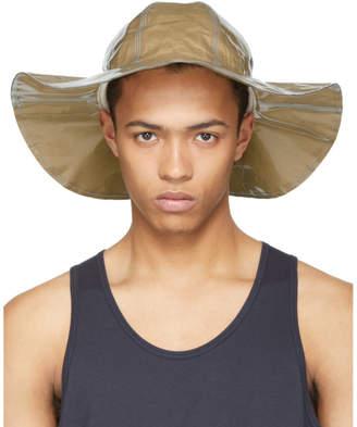 Comme des Garcons Beige Paper Hat