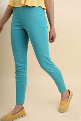 Umgee USA Turquoise Skinny Pants