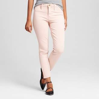 Mossimo Women's High Rise Jegging Crop Pink - Mossimo $29.99 thestylecure.com